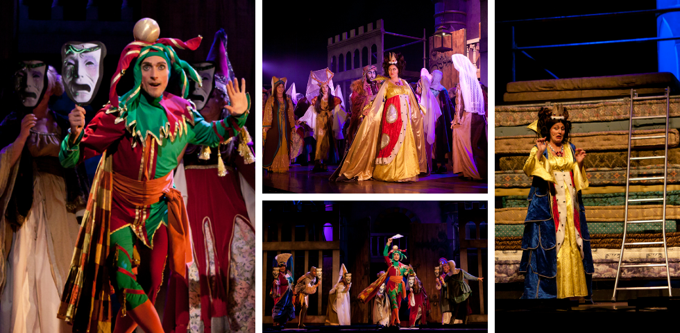 Musicalproductie Once Upon A Mattress - BOeMS - Theaters Tilburg