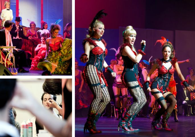 Musicalproductie Moulin Rouge - Scala Productiehuis - Parktheater Eindhoven