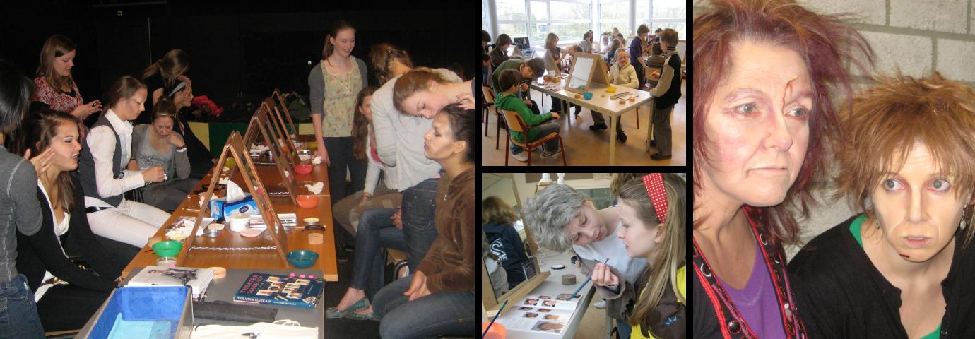 Workshop theatergrime - primair en voortgezet onderwijs