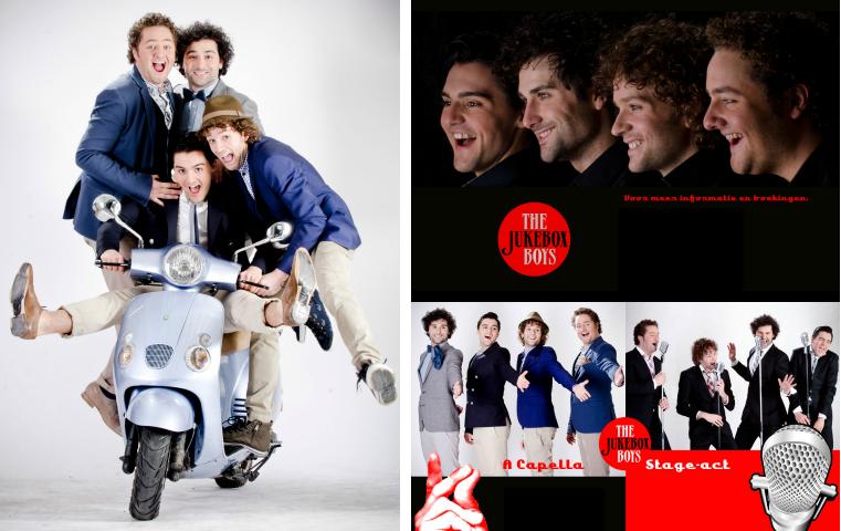 The Jukeboxboys - beeldmateriaal voor promotie, fotografie: René Wouters